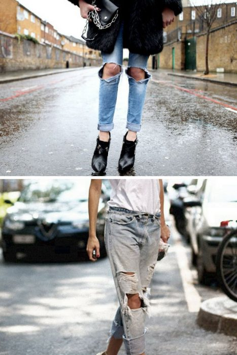 Ripped Jeans Trend For Women 2018 (9)