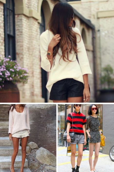 Long Sleeves And Shorts Transitional Trend 2019