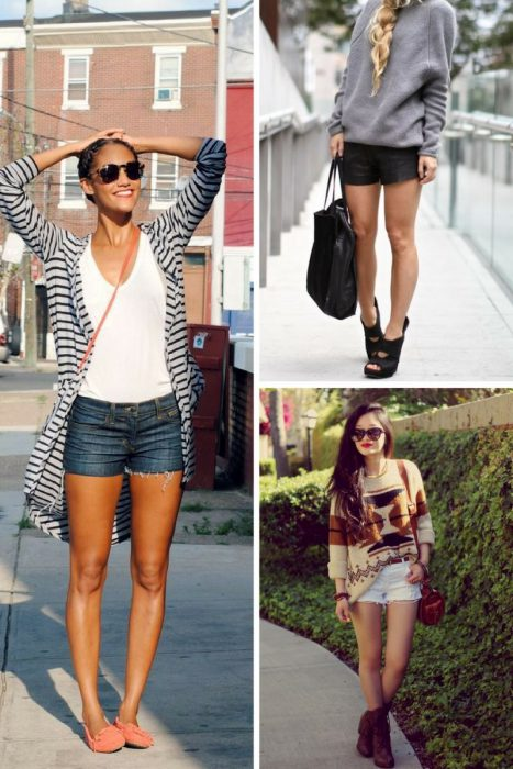 Shorts and Long Sleeves For Women 2018 (7)