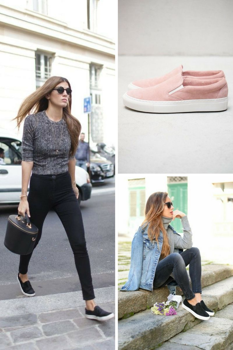 17406693aef25 Slip On Shoes For Women Best Looks To Copy 2019 - OnlyWardrobe.com
