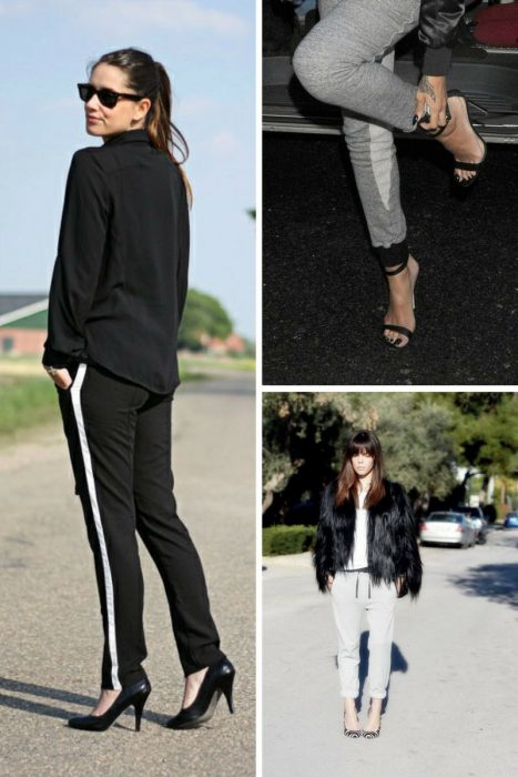 Sweatpants And Heels Are Back In Fashion 2020