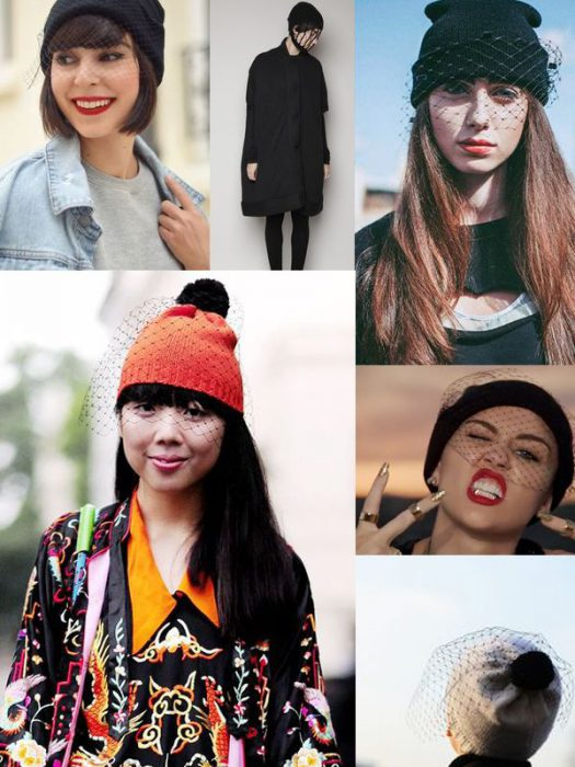 Veiled Beanies For Women 2018 (13)