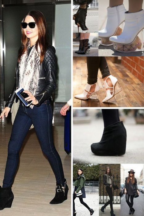 Practical Wedge Ankle Boots 2019