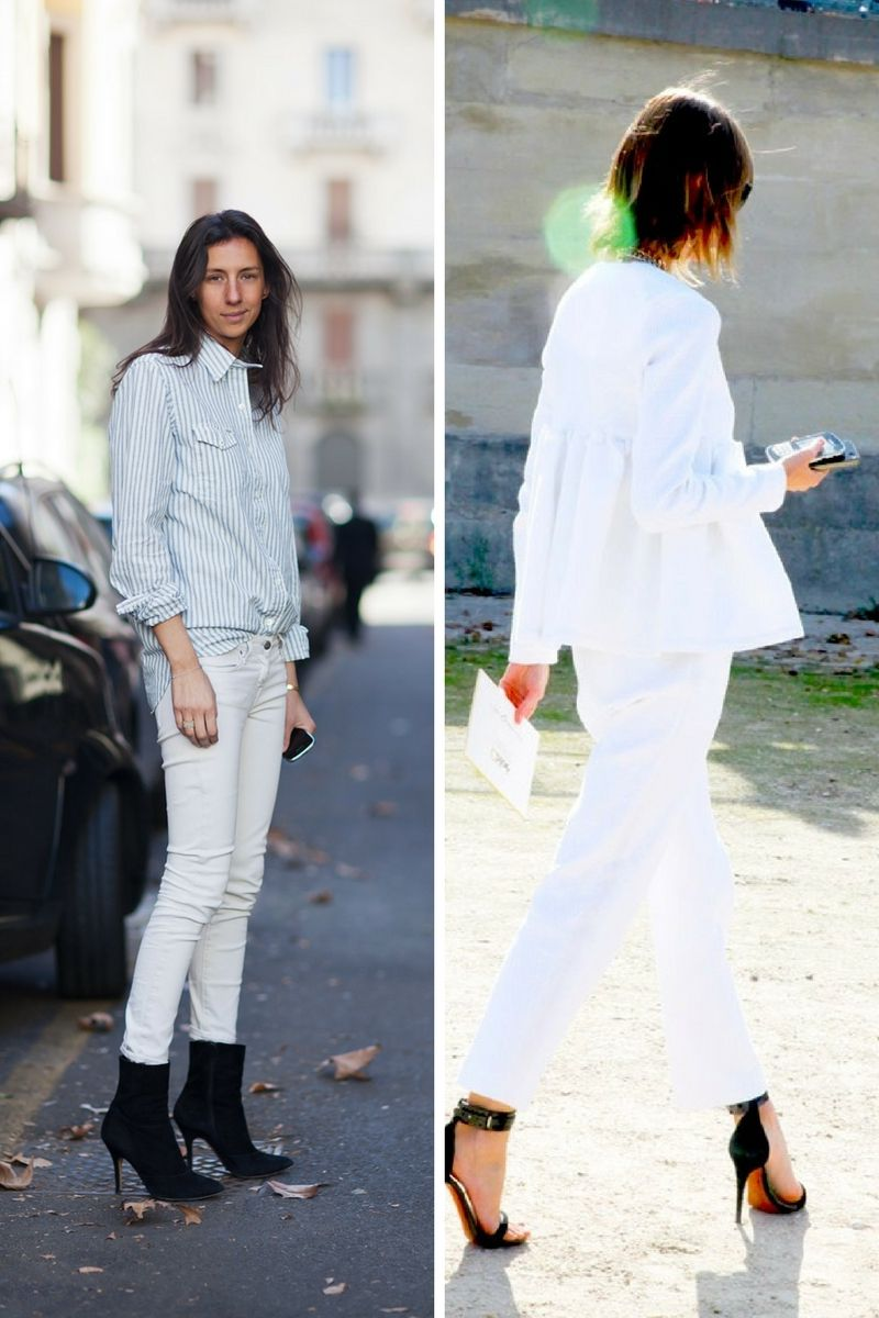 461eb06d10c5 How To Wear White Jeans In Winter 2019 - OnlyWardrobe.com