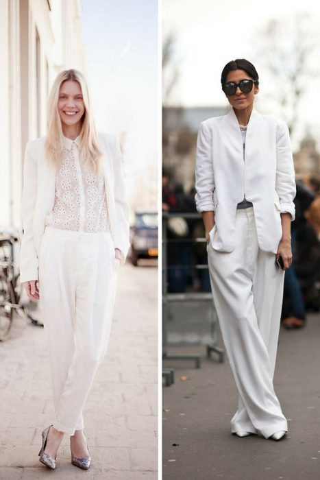 How To Wear White Clothes During Winter 2019