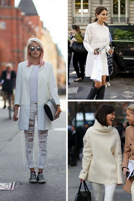 How To Wear White Clothes During Winter 2020