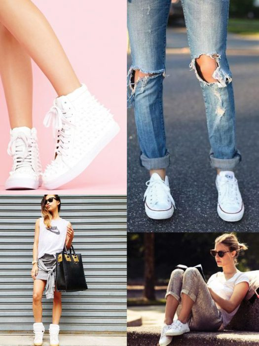 White Sneakers For Women To Wear Now 2019