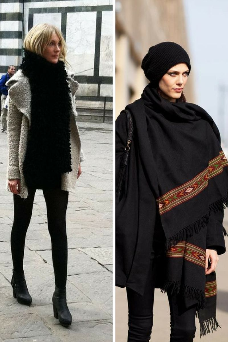 How To Wear Scarves This Winter 2018 | OnlyWardrobe.com