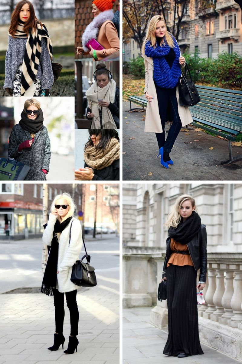 how to wear scarves this winter onlywardrobecom
