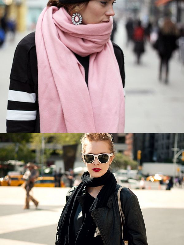 How To Wear Scarves This Winter 2019 - OnlyWardrobe com