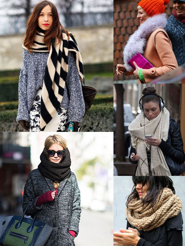 how to wear scarves this winter 2018 onlywardrobecom
