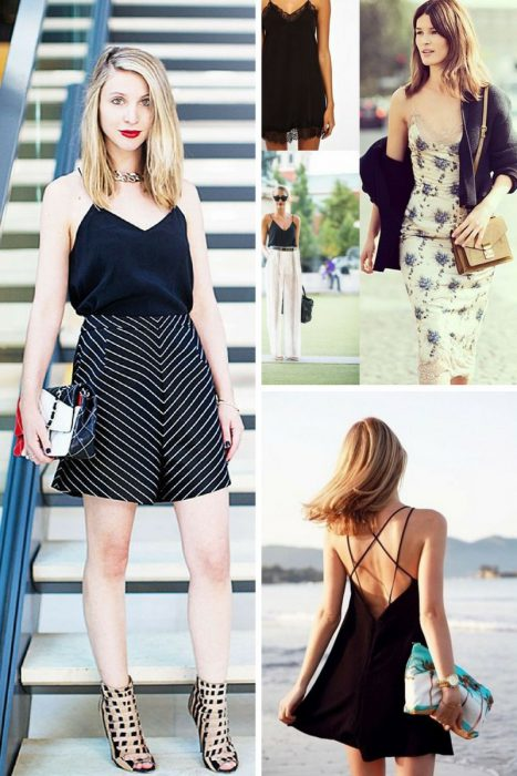 Women Outfits With Spaghetti Straps 2018 (5)