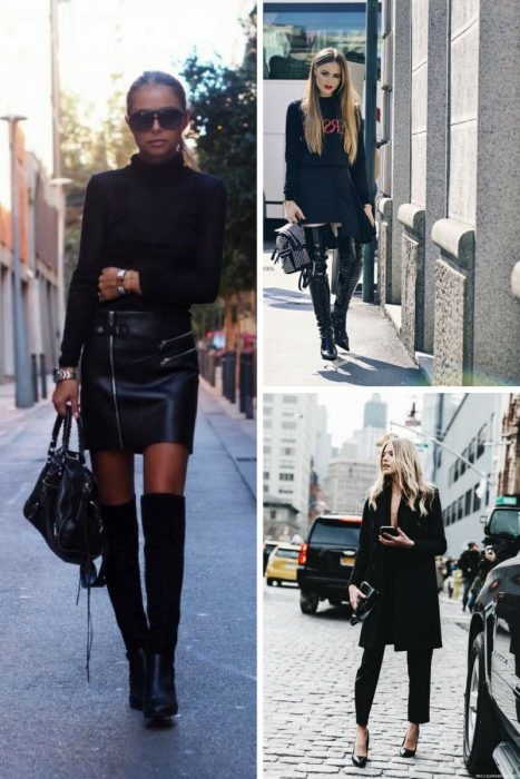 How To Wear All Black Outfits Next Fall 2019