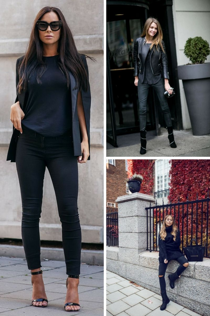 How To Wear All Black Outfits Next Fall 2018   OnlyWardrobe.com