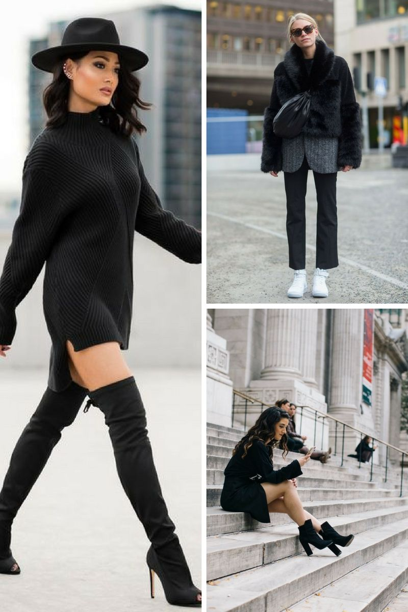 How To Wear All Black Outfits Next Fall 2019 ...