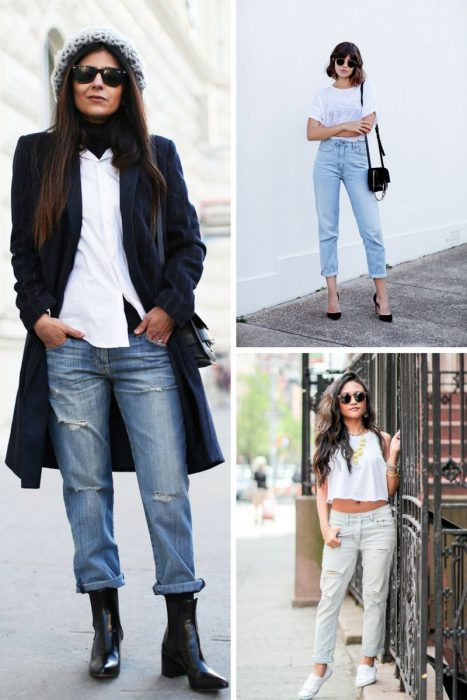 28 Impressive Outfits With Boyfriend Jeans 2019