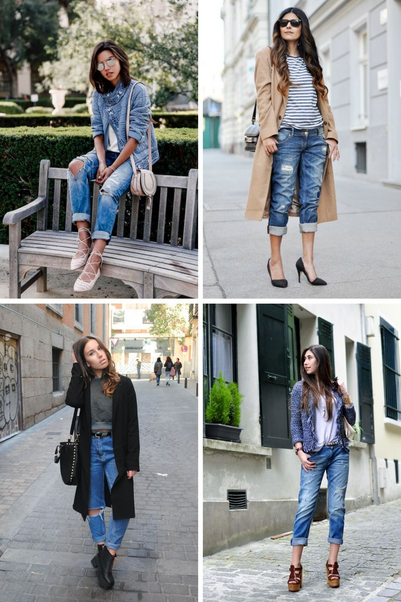 28 Impressive Outfits With Boyfriend Jeans To Try In 2018 | OnlyWardrobe.com