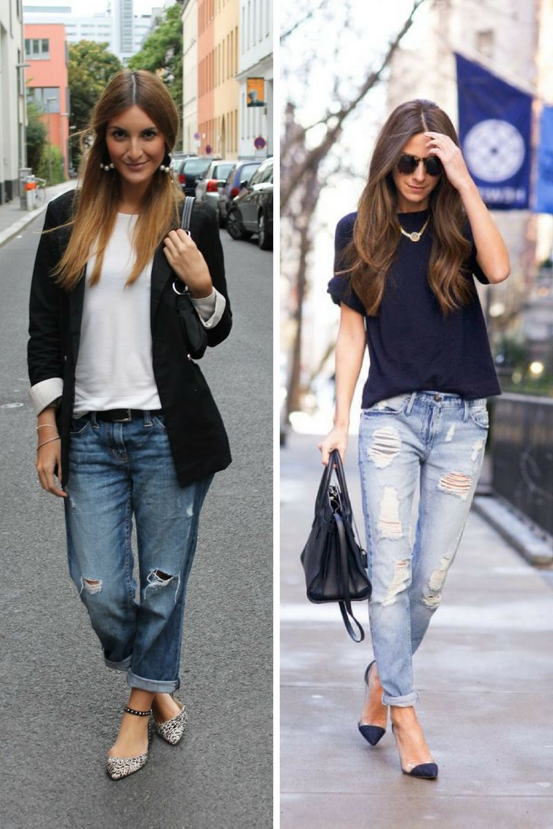 3533a409f5 28 Impressive Outfits With Boyfriend Jeans 2019 - OnlyWardrobe.com