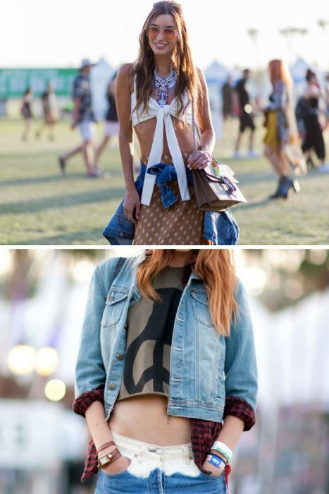 Denim Shirt Women Outfit