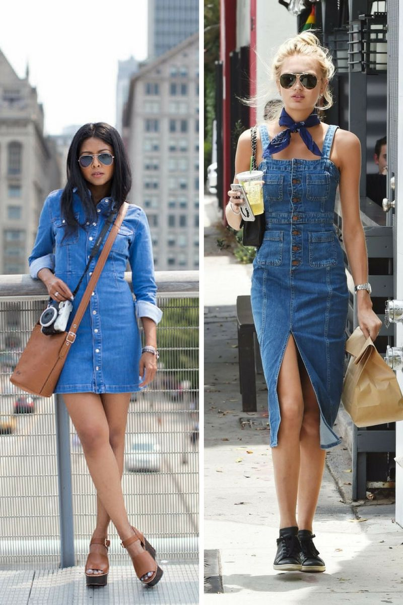 ed4de82be Must Have Denim Dresses 2019 - OnlyWardrobe.com