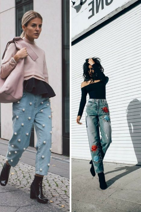 Embroidered Jeans Outfits 2018 (1)