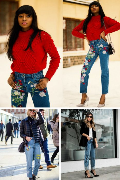 Embroidered Jeans Outfits 2018 (10)