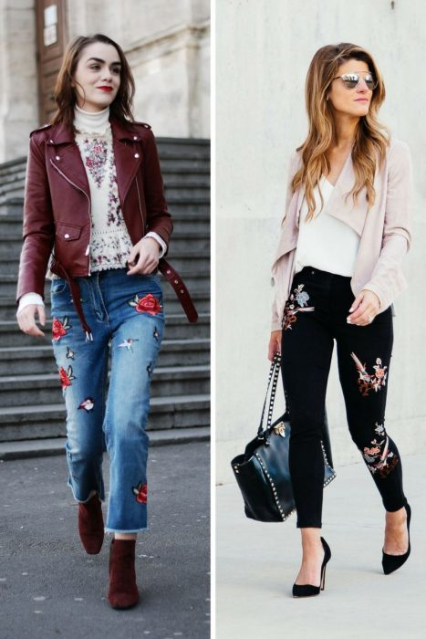 Embroidered Jeans Outfits 2018 (5)