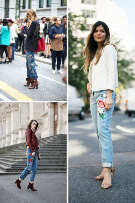 Embroidered Jeans Outfits 2018 (6)