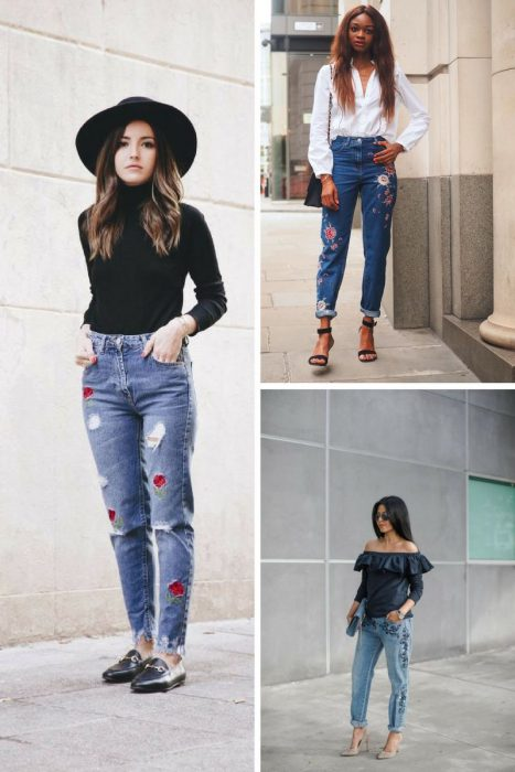 Embroidered Jeans Outfits 2018 (7)