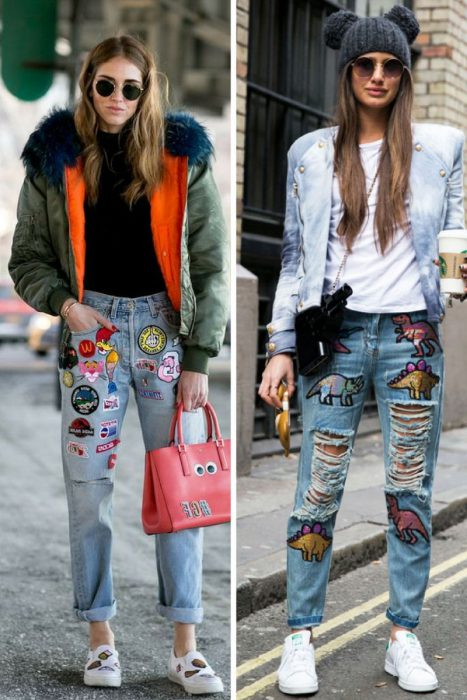Embroidered Jeans Are Must Tries For Spring 2019