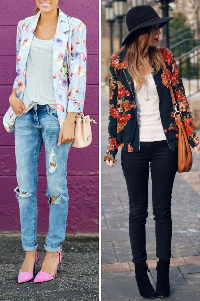 Floral Jackets Are Trendy Again In 2018