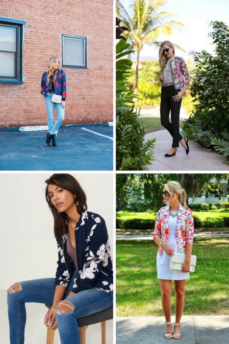 Floral Jackets Outfits 2018 (4)