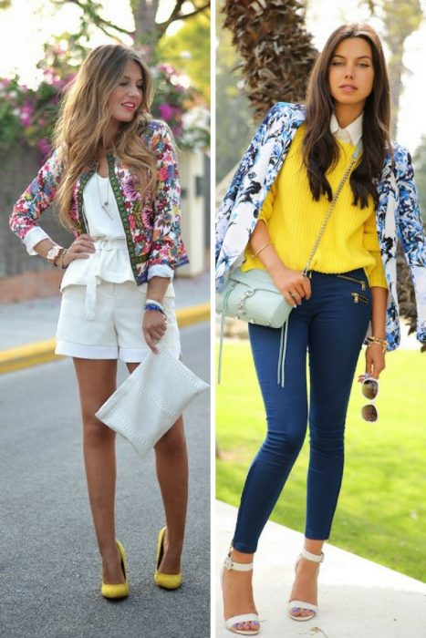 Floral Jackets Outfits 2018 (5)