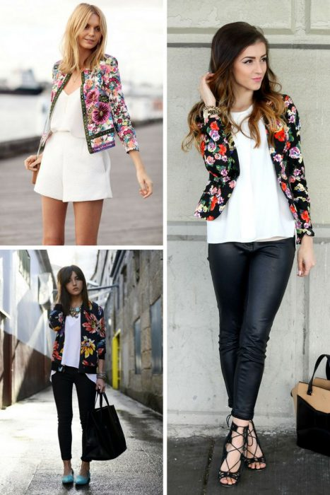 Floral Jackets Outfits 2018 (6)