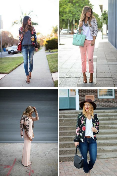 Floral Jackets Outfits 2018 (8)