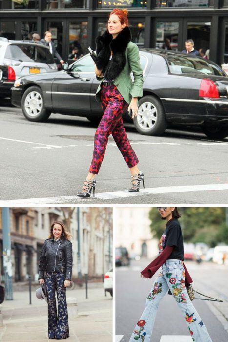Floral Print Trousers Trend 2018 (2)