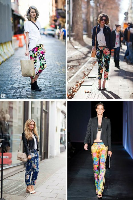 Floral Print Trousers Trend 2018 (5)