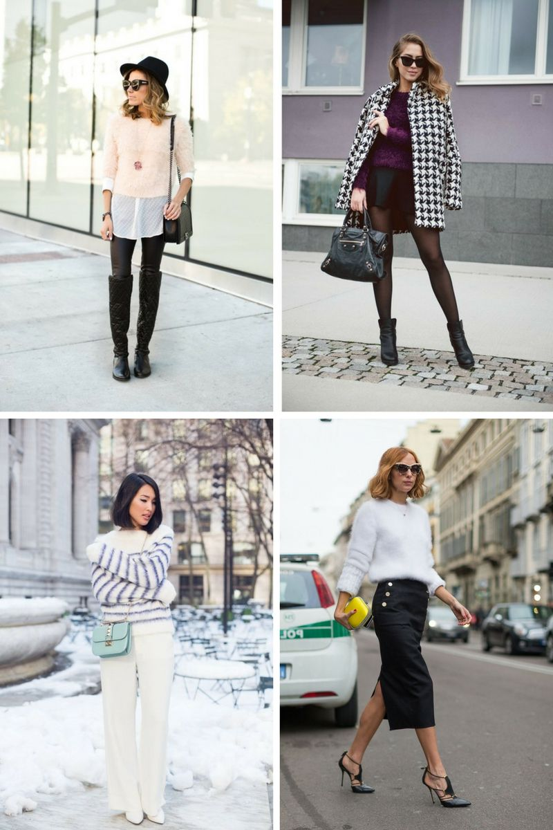 baadb94f6cb Fuzzy Sweaters Are Must Haves For Cold Days 2019 - OnlyWardrobe.com