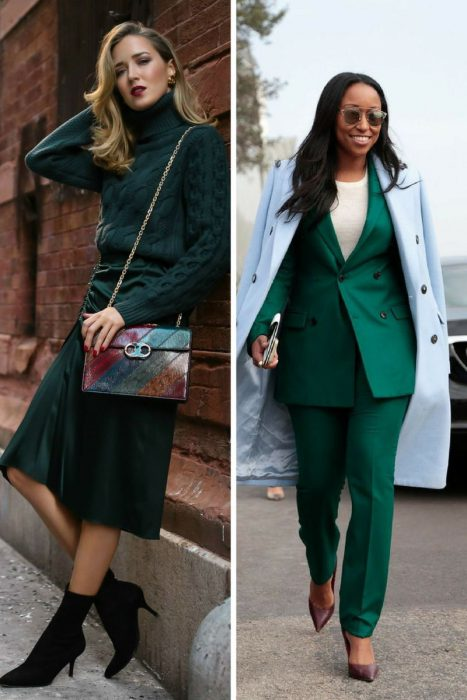 How To Wear Emerald Green 2018 (1)