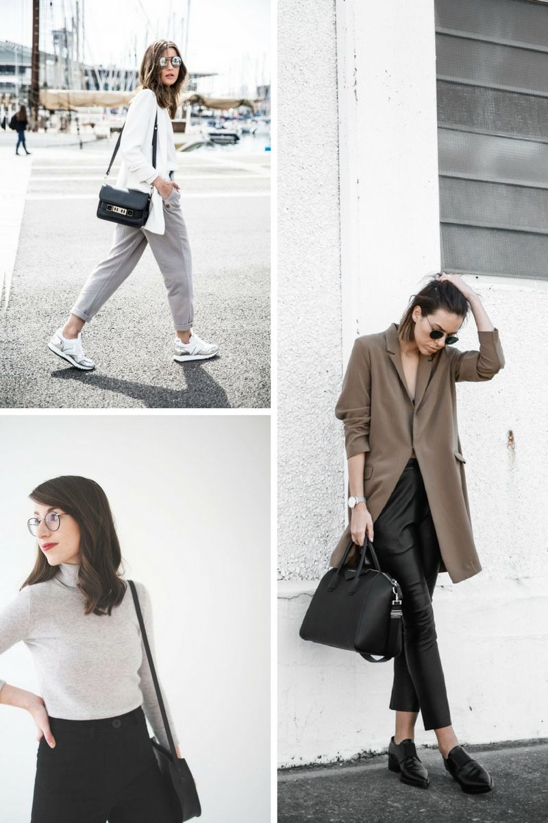 Minimalist style outfit ideas 2018 for Minimalist look