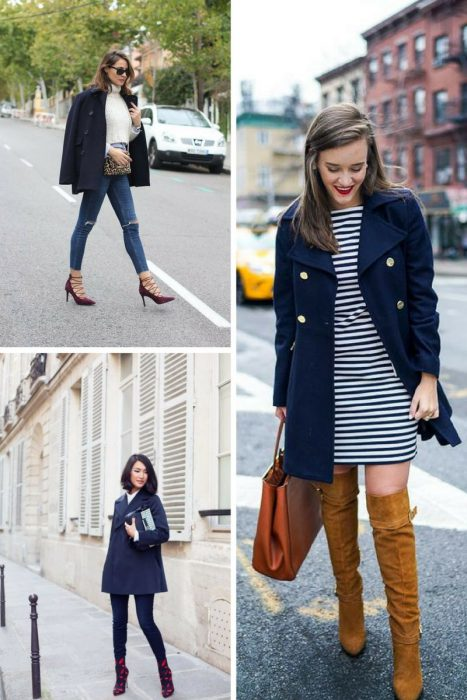 Navy Blue Coats How To Create Fabulous Looks 2019