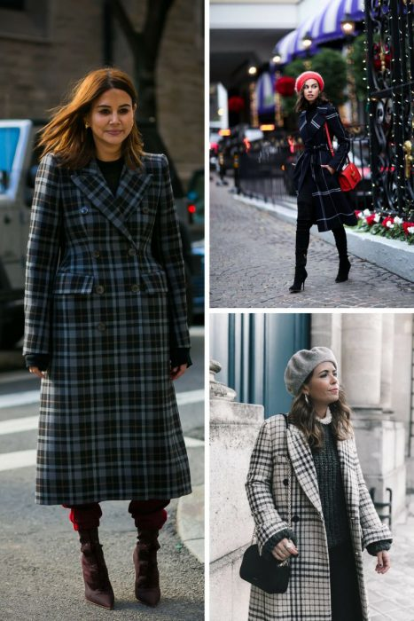 Plaid Coats Best Looks To Copy 2019