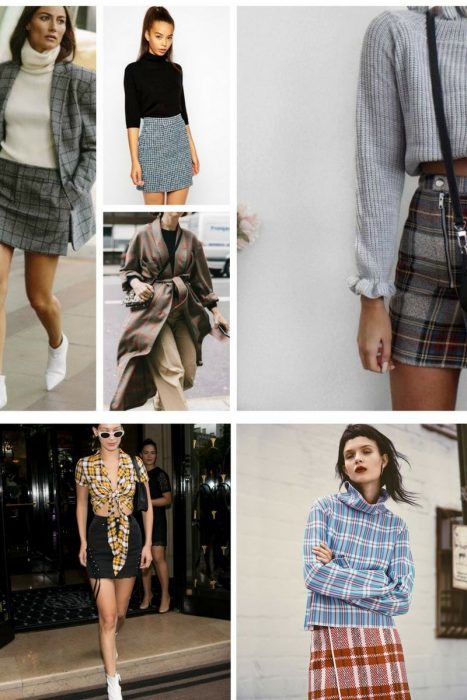 Plaid Print Outfit Ideas 2019