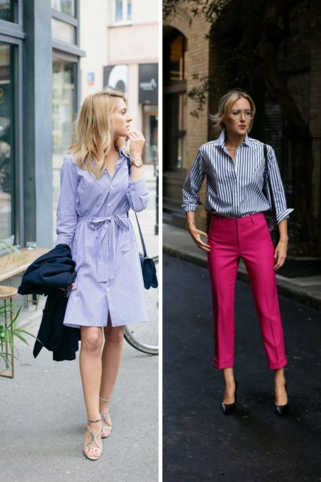 How To Style Striped Shirts In Spring 2021