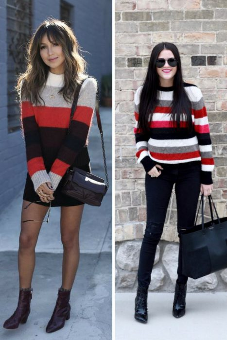 Striped Sweater Outfits 2018 (11)