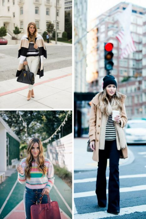 Striped Sweater Outfits 2018 (12)
