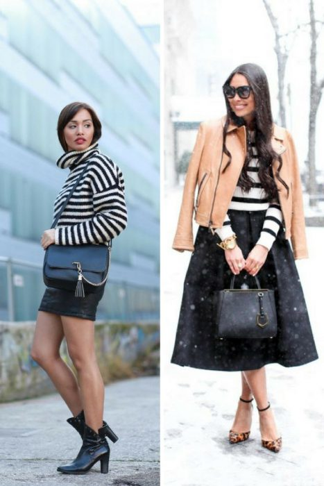 Striped Sweater Outfits 2018 (16)