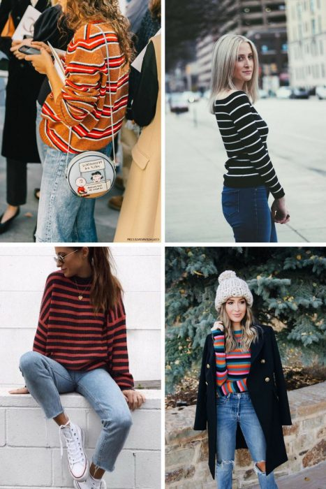 Striped Sweater Outfits 2018 (4)