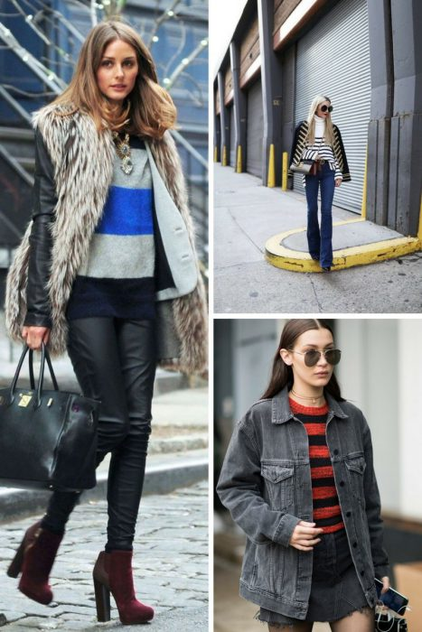 Striped Sweater Outfits 2018 (7)