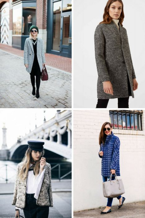 Why Tweed Coats Are Back In Fashion 2020